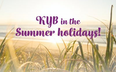 KYB in the summer holidays!